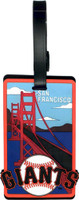 San Francisco Giants Luggage Tag
