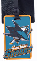 San Jose Sharks Luggage Bag Tag