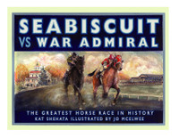 Seabiscuit vs War Admiral - Children's Book