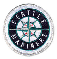 Seattle Mariners Embroidered Emblem Patch – 4""