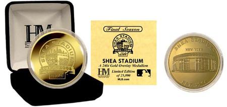 "Shea Stadium 24KT Gold ""Final Season"" Commemorative Coin"