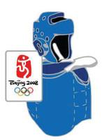 Beijing 2008 Olympics Taekwondo Pin - Imported from Beijing