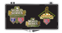 St. Louis Cardinals 2011 World Series Champs 3 Pin Set