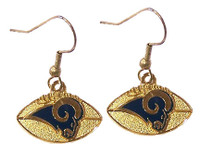 Los Angeles Rams Football Earrings