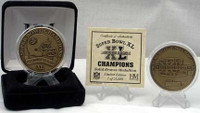 Super Bowl XL (40) Pittsburgh Steelers Champion Bronze Coin - Limited 25,000