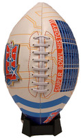 "Super Bowl XLI (41) ""Road To"" Medallion Commemorative Football"