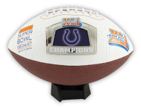 Super Bowl XLI (41) Indianapolis Colts Champs Commemorative Football