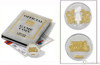 Super Bowl XLI (41) Official Two Tone Flip Coin - Limited 10,000