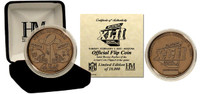 Super Bowl XLII (42) Bronze Flip Coin - Limited 10,000