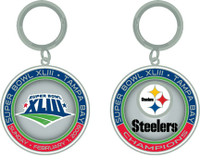 Super Bowl XLIII (43) Pittsburgh Steelers Champs Ultimate Key Chain