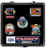 Super Bowl XXXIX (39)  New England Patriots Champs Pin Set - Limited 5,000