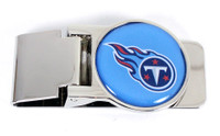 Tennessee Titans Brass Money Clip