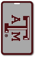 Texas A&M School Bag Luggage Tag