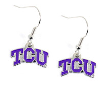 Texas Christian Earring