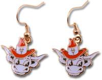 Texas Longhorns Mascot Earrings