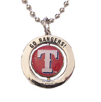 Texas Rangers #1 Fan Spinner Necklace