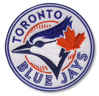 Toronto Blue Jays Embroidered Emblem Logo Patch