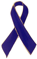 Blue Ribbon Awareness Pin
