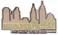 138 Belmont Stakes 2006 Lapel Pin