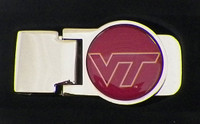 Virginia Tech Money Clip