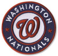 "Washington Nationals Embroidered Emblem Patch – 4"""