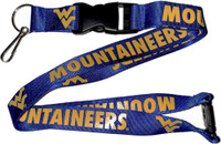 West Virginia Lanyard