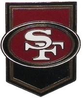 San Francisco 49ers Crest Pin
