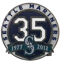 Seattle Mariners 35th Anniversary Pin