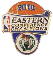 Boston Celtics 2010 Eastern Conference Champs Pin