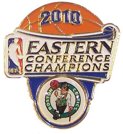 Boston Celtics 2010 Eastern Conference Champs Pin