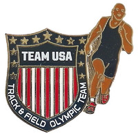 Team USA Track & Field Crest Pin