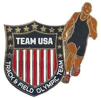 Team USA Track & Field Crest Pin