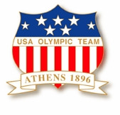 1896 Athens USA Olympic Team Pin