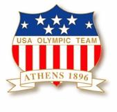 1896 Athens USA Olympic Team Pin