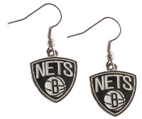 Brooklyn Nets Logo Earrings