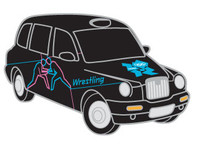 London 2012 Olympics Wrestling Taxi Pin