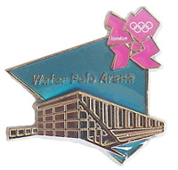 London 2012 Olympics Water Polo Arena Pin