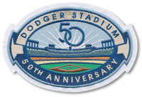 Dodger Stadium 50th Anniversary Patch