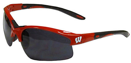 Wisconsin Badgers Sunglasses - Blade Style