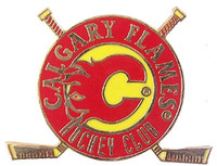 Calgary Flames Hockey Club Pin