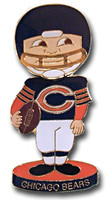 Chicago Bears Bobble Head Pin