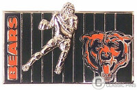 Chicago Bears Field Double Pin
