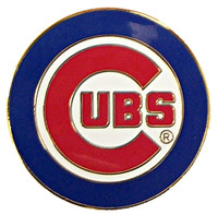 Chicago Cubs Primary Logo Pin