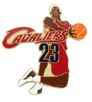Cleveland Cavaliers Lebron James Dunk Pin