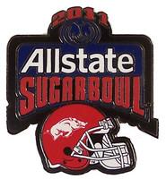 2011 All State Sugar Bowl Pin - Arkansas