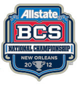 2012 Allstate BCS Logo Pin