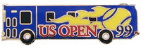 1999 US Open Tennis NY Bus Pin