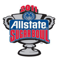 2011 All State Sugar Bowl Logo Pin
