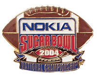 2004 Nokia Sugar Bowl Football Pin