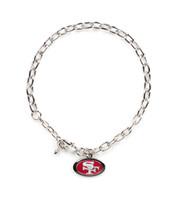 San Francisco 49ers Logo Bracelet